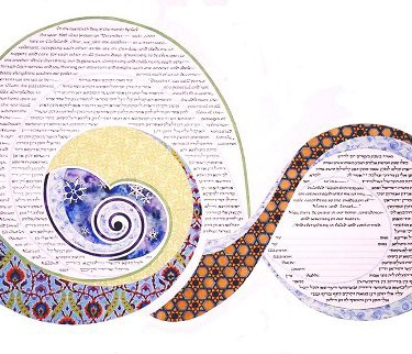Custom Ketubah Commission