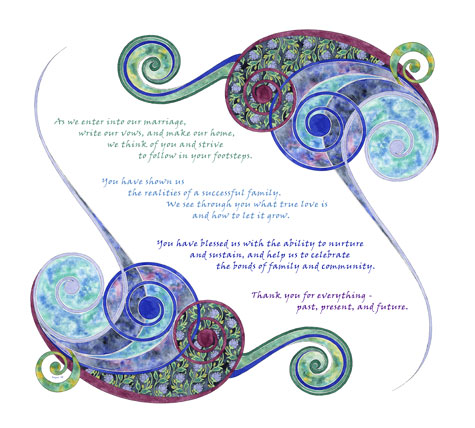 Gift Ideas | Ketubah by Amy Fagin
